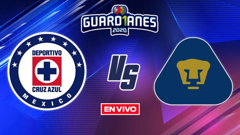 EN VIVO Y EN DIRECTO: Cruz Azul vs Pumas