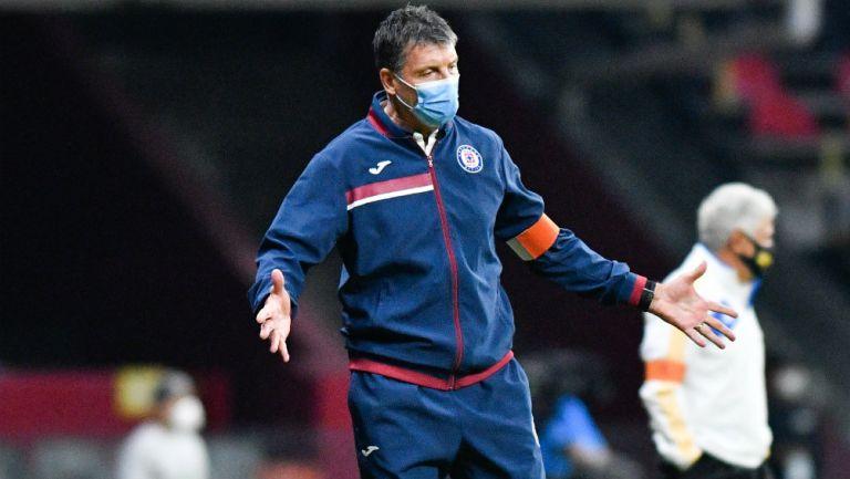 Cruz Azul: Siboldi deslinda a sus jugadores de fracasos celestes