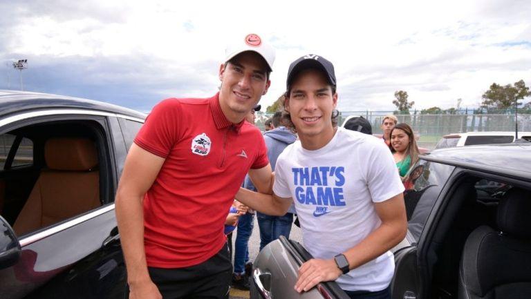 Mauro y Diego Lainez