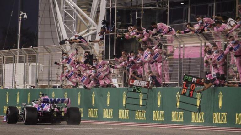 Checo Pérez consiguió su primer victoria en F1 en el GP de Sakhir | RÉCORD
