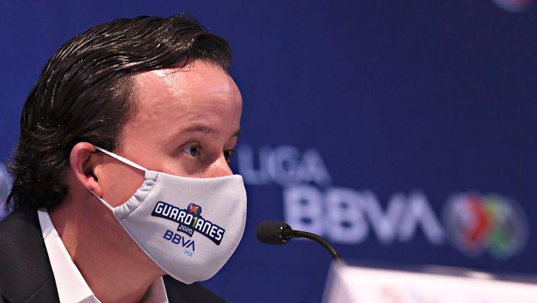 Mikel Arriola, nuevo Presidente de la Liga MX