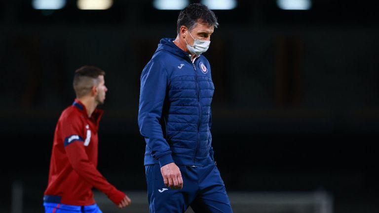 Cruz Azul: Futuro de Siboldi, en suspenso por Concachampions