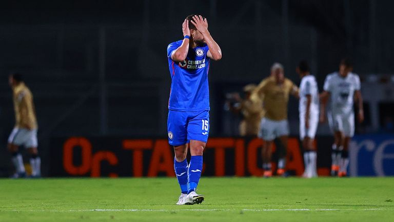 Rivero se lamenta tras la última derrota de Cruz Azul