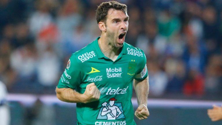 Mauro Boselli en su paso por León