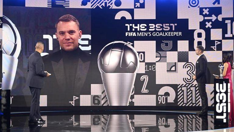 Ceremonia de premiación 2020 'The Best'