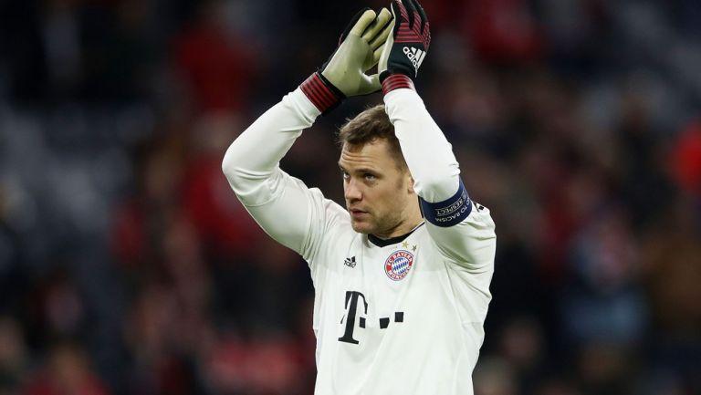 Manuel Neuer previo a un duelo con el Bayern Munich