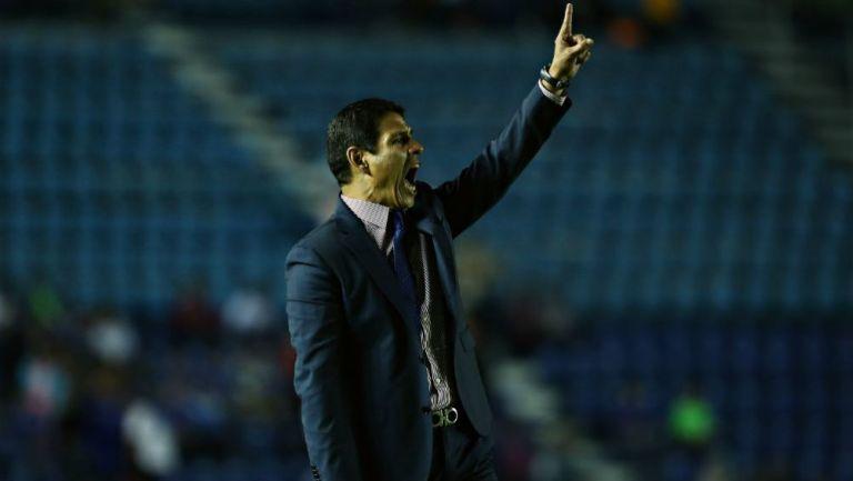 Alfonso Sosa en el Estadio Azul