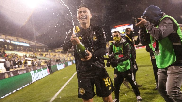 Lucas Zelarayán tras ser Campeón en la MLS