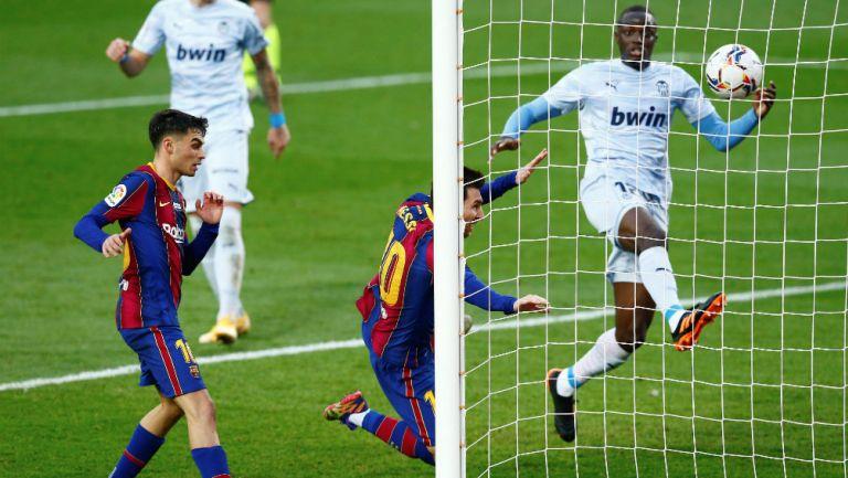 Lionel Messi: La Pulga igualó récord de Pelé de más goles con un mismo equipo