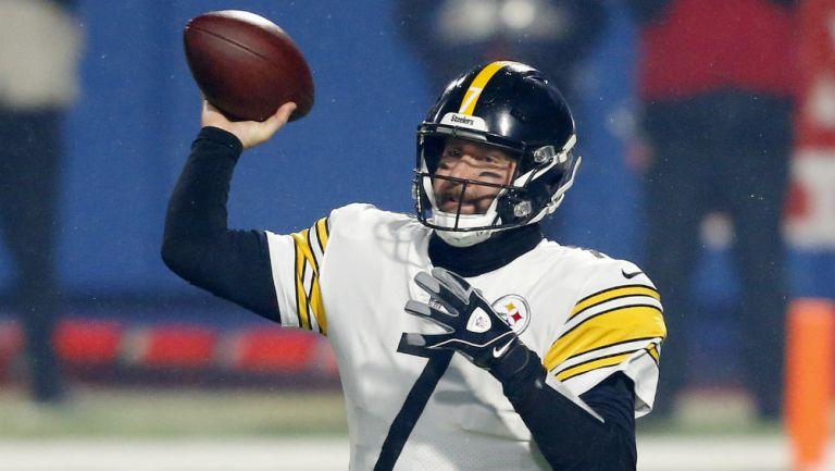 Ben Roethlisberger en partido de la NFL