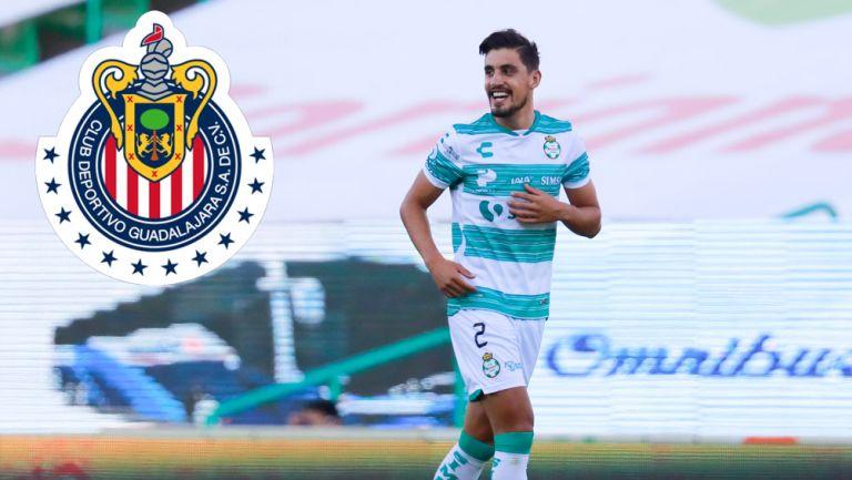 Josecarlos Van Rankin, en un duelo con Santos