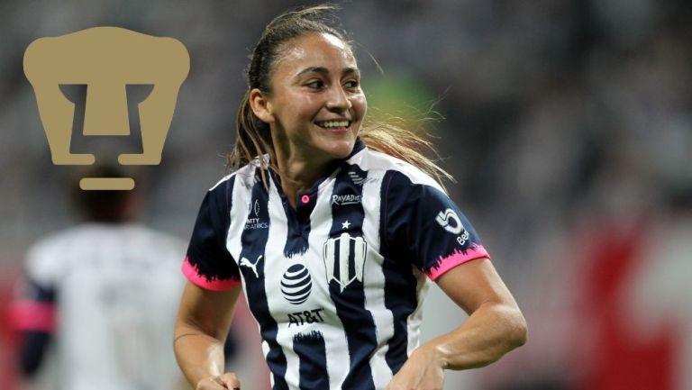 Dinora Garza, nueva jugadora de Pumas