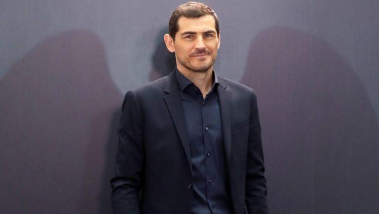 Iker Casillas durante una gala de FIFA