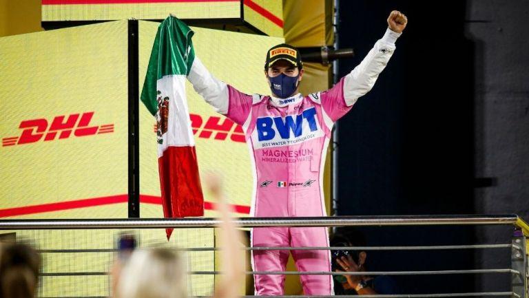 Sergio Pérez elegido el tercer mejor piloto