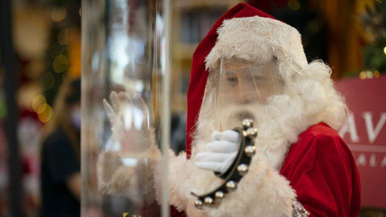 Santa Claus previo a Navidad