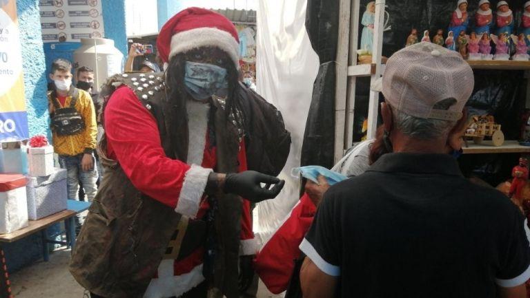 Los luchadores recorrieron los mercados de Irapuato
