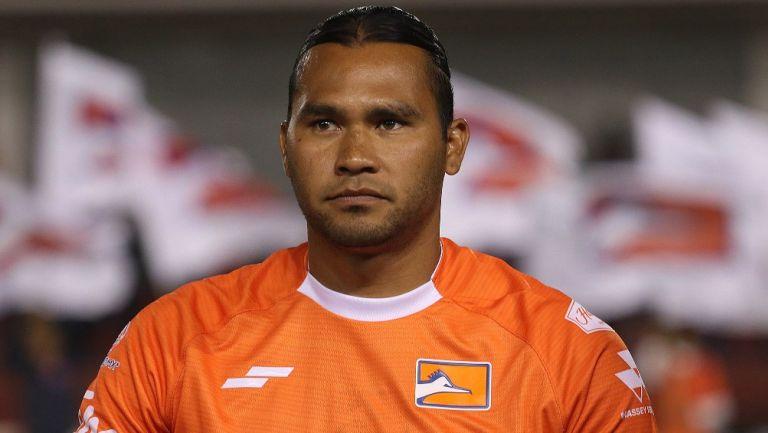 Carlos Peña en su paso por Correcaminos