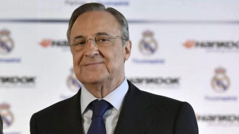 Florentino Pérez en un evento del Real Madrid