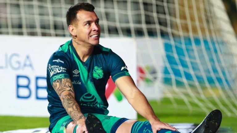 Daniel Arreola durante un partido con Puebla