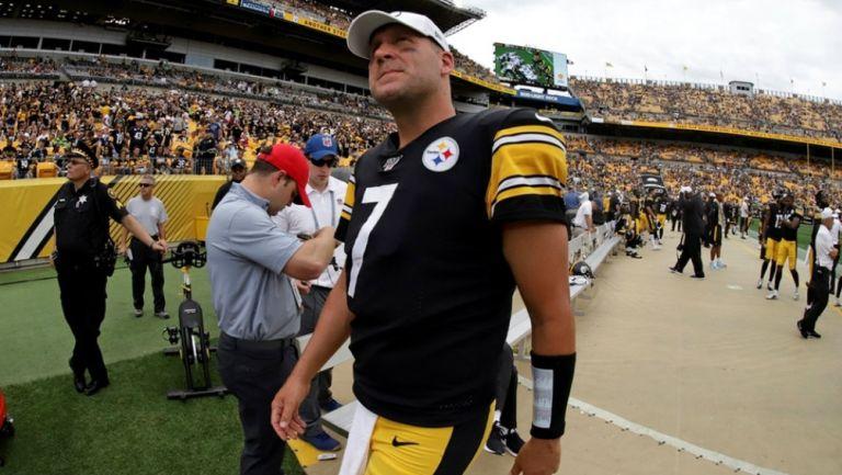 Steelers: Ben Roethlisberger no jugará ante Browns