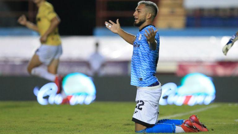 José Hernández en lamento con Cancún FC