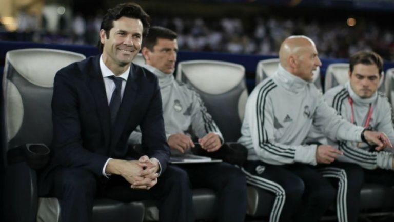 Solari como técnico del Real Madrid