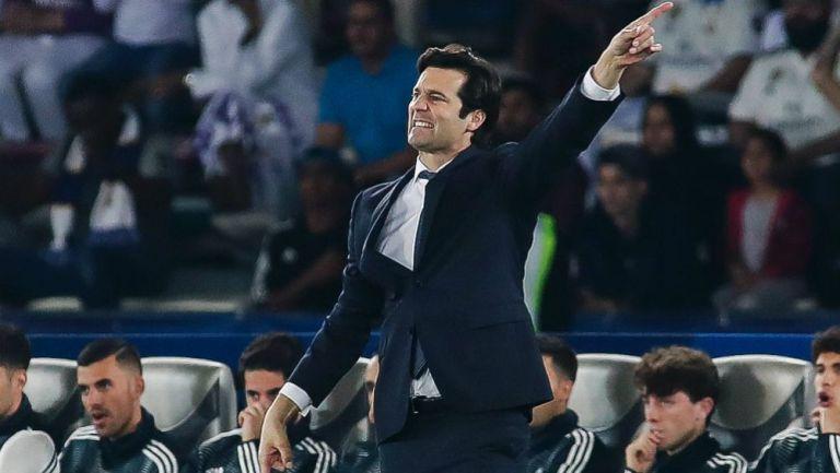 Santiago Solari dirige un duelo del Real Madrid