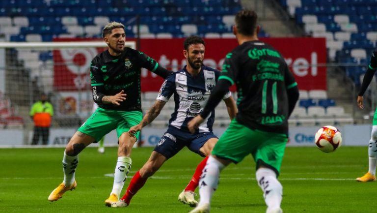Rayados y Santos disputaron dos amistosos en el BBVA