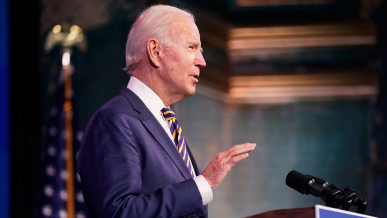 Joe Biden, en conferencia de prensa