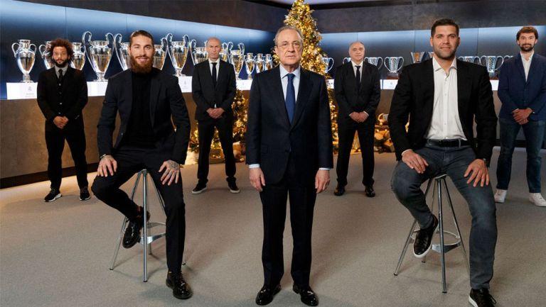 Principales representantes del Real Madrid desean feliz Año Nuevo