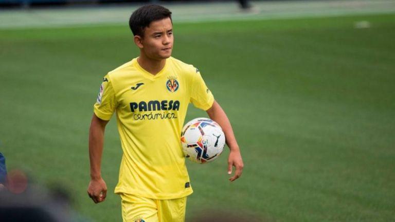 Take Kubo busca dejar el Villarreal por falta de juego