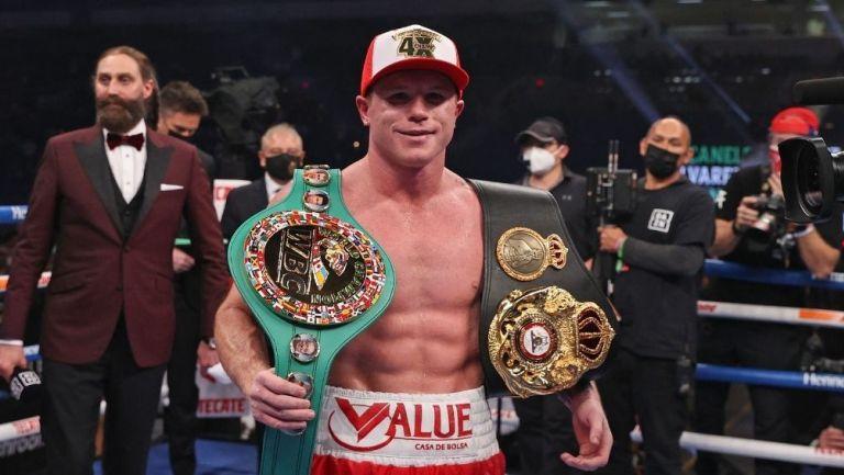 Canelo Álvarez en su última pelea
