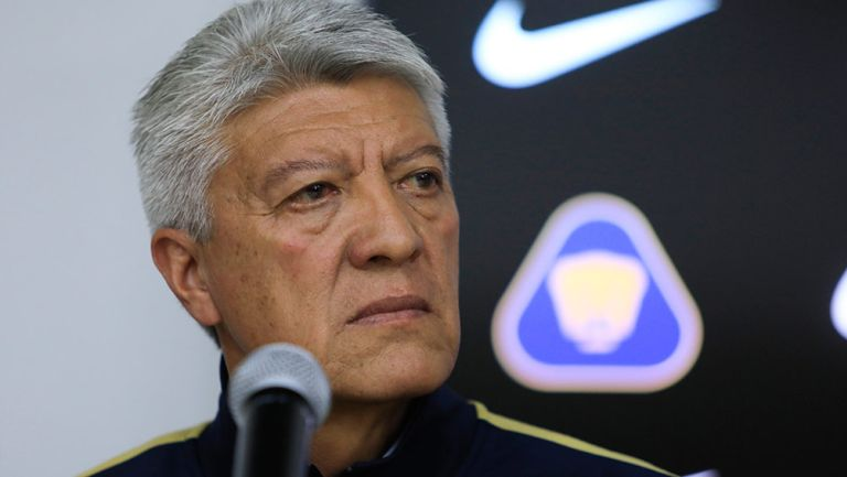 Ramírez, durante una conferencia de prensa