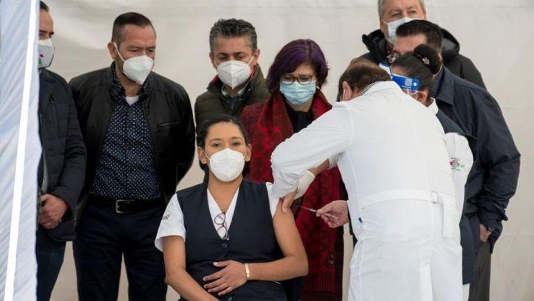 Personal del sector salud han sido vacunados