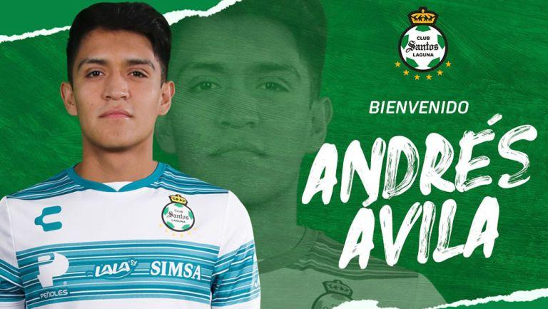 Andrés 'Chato' Ávila, presentado como nuevo refuerzo de Santos