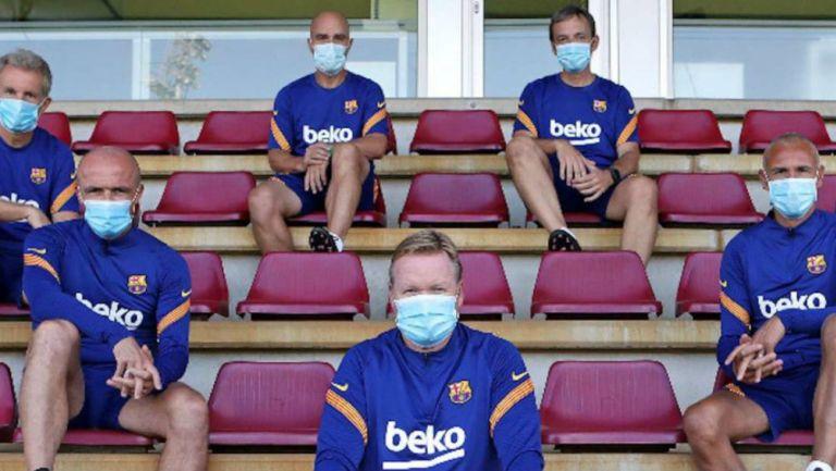 Barcelona: Dos miembros del staff padecen Covid-19