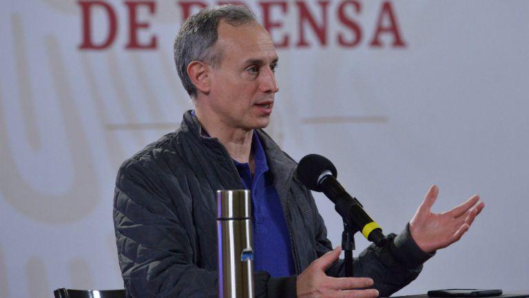López Gatell, subsecretario de Prevención y Promoción de la Salud