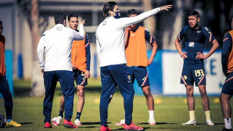 Mauro Lainez: 'Santiago Solari busca sacar lo mejor de cada uno'