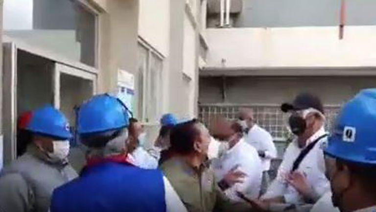 Momentos de tensión entre grupos de oposición
