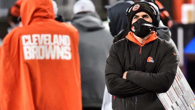 Stefanski observa un juego de los Browns