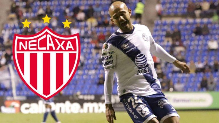 Acuña como jugador del Puebla