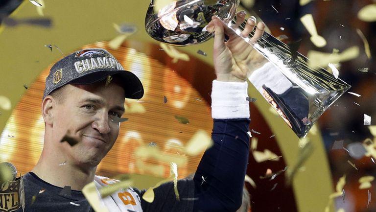 Peyton Manning tras ganar el Vince Lombardi con Broncos