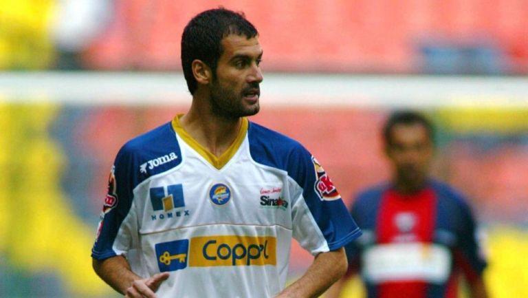 Pep Guardiola como jugador de Dorados