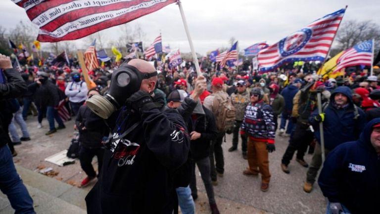 Partidarios de Trump irrumpieron en el Capitolio