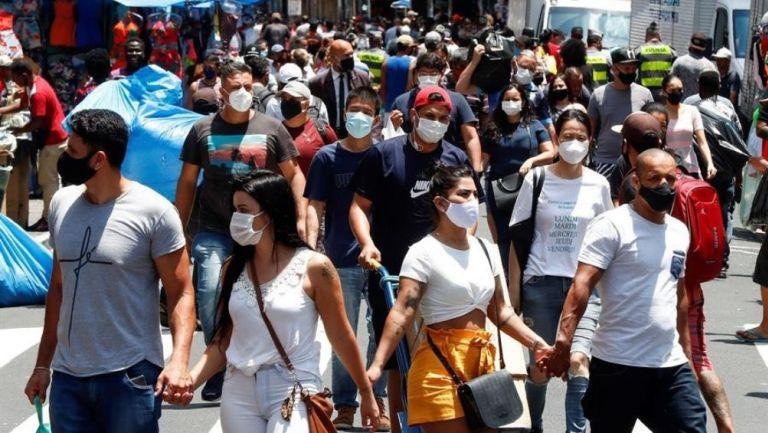 Brasil se aproxima a las 200 mil muertes de coronavirus