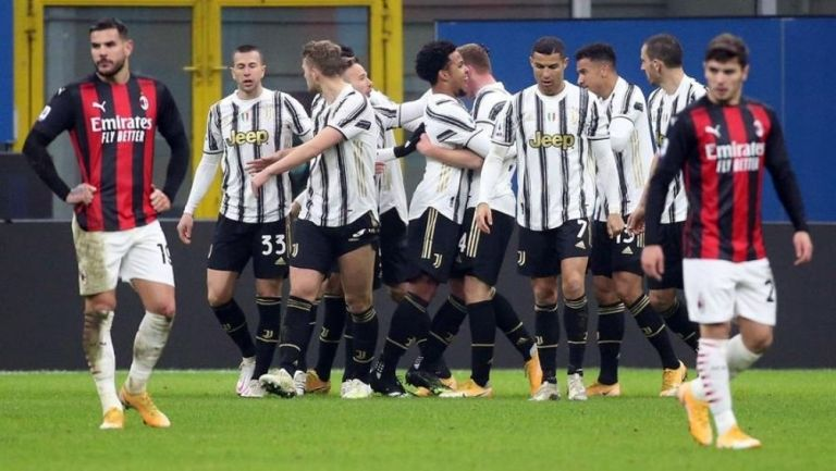Juventus le quitó el invicto al Milan