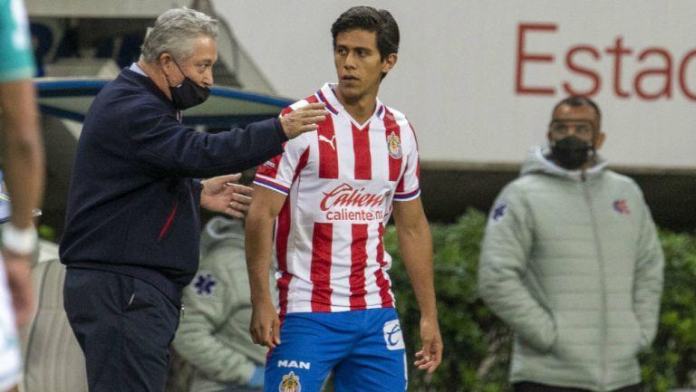 Chivas: JJ Macías reveló que Vucetich lo ha hecho crecer como delantero