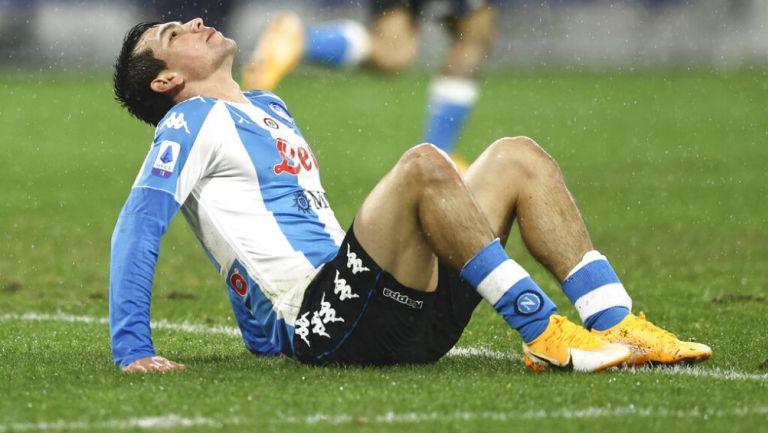Chucky Lozano: Napoli cayó sorpresivamente ante el Spezia
