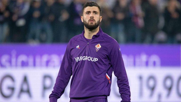 Patrick Cutrone previo a un duelo con la Fiorentina