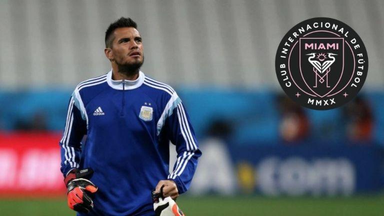 Sergio Romero podría llegar al Inter de Miami